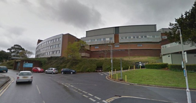 Baby died after ingesting Tramadol in mum's breast milk given to her for back pain Torbay Hospital Picture: Google Maps