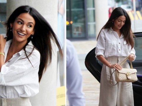Michelle Keegan couldn't look more stylish if she tried while promoting new show Brassic