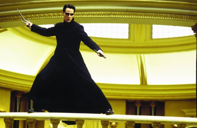 Keanu Reeves As Neo in The Matrix Revolutions