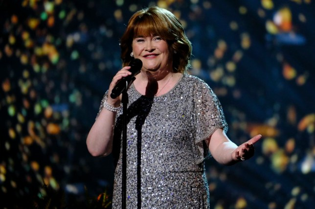 "AMERICA'S GOT TALENT -- ""Live Results 2"" Episode 1415 -- Pictured: Susan Boyle -- (Photo by: Trae Patton/NBC)"