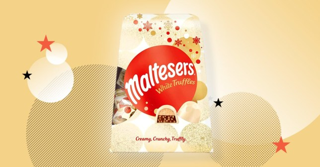 Maltesers White Chocolate Truffles Are Coming For Christmas