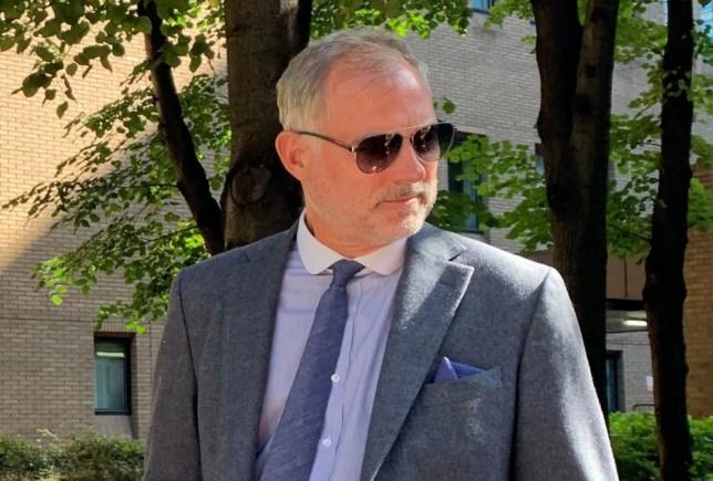 John Leslie at Southwark Crown Court