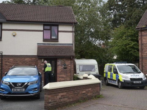Body of boy, 10, found in caravan next to semi-detached house