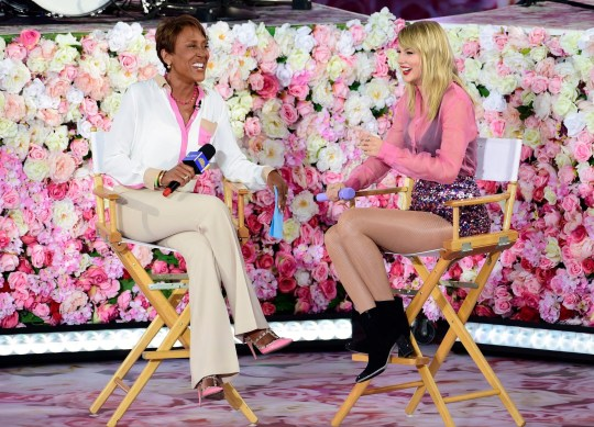 Robin Roberts and Taylor Swift 'Good Morning America'