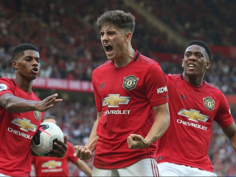 Ole Gunnar Solskjaer reveals Daniel James concern after Manchester United's defeat to Crystal Palace
