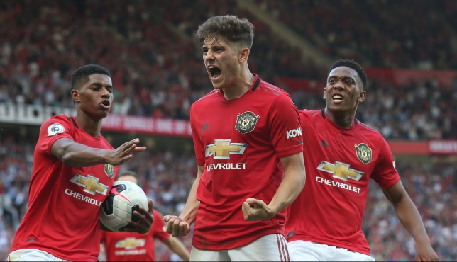 Daniel James scored as Manchester United were beaten by Crystal Palace