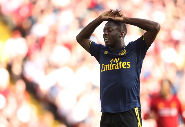 Nicolas Pepe finally ends Virgil van Dijk's long-running Premier League record