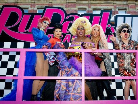 RuPaul's Drag Race UK queens sissy that walk as they take over Manchester Pride