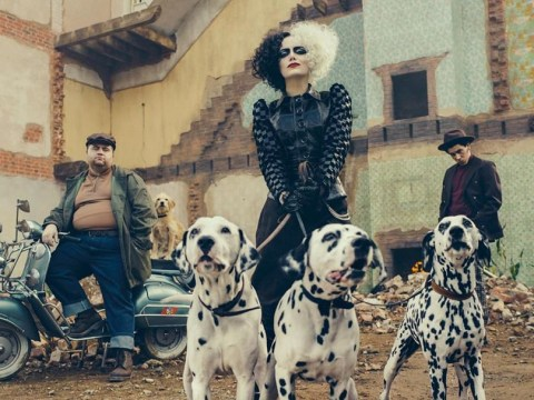 When is Cruella released, when is it set and who is in the cast with Emma Stone?