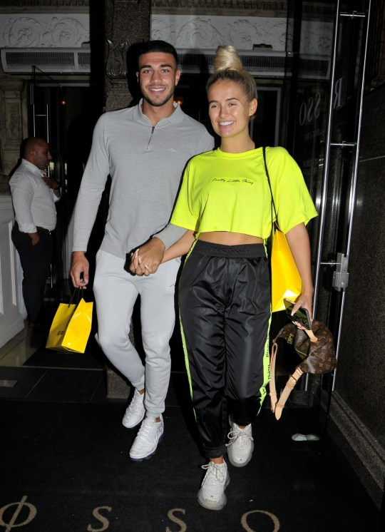 Molly Mae Hague steps out with Tommy Fury