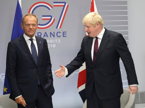 Boris Johnson says chances he can secure a Brexit deal are 'touch and go'