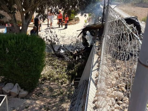 Seven dead after helicopter and plane collide in Majorca