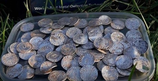 Couple find £5,000,000 treasure hoard while metal detecting