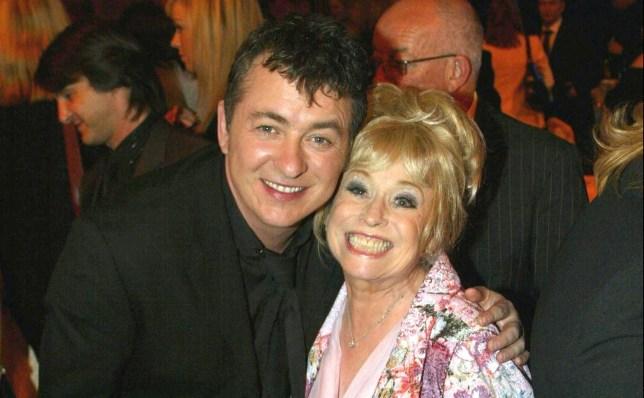 Barbara Windsor and Shane Richie