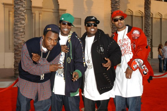 LOS ANGELES, CA - NOVEMBER 21: Dem Franchize Boyz attends 34th Annual American Music Awards 2006 Arrivals at Shrine Auditorium on November 21, 2006 in Los Angeles, CA. (Photo by Andreas Branch/Patrick McMullan via Getty Images)