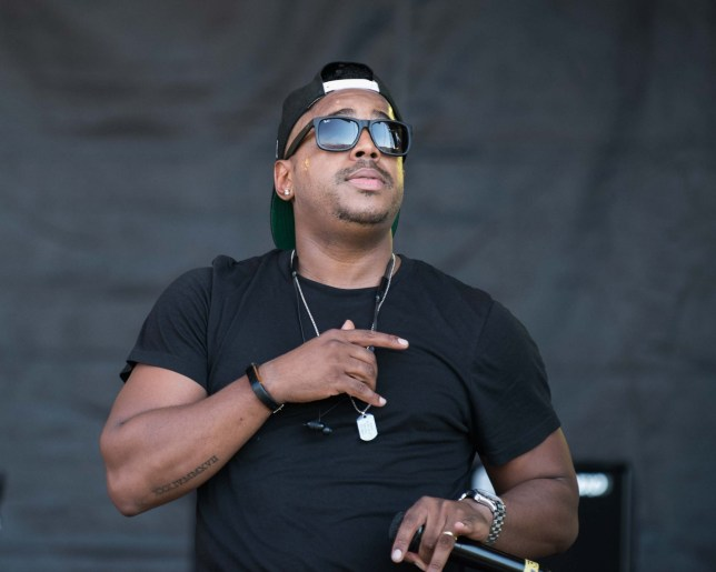 Bradley McIntosh of S Club performing live on stage at the Sunshine Festival, Upton upon Severn, UK, Sunday August 25, 2019 As you may be aware there was a fatal stabbing in Maidstone on Saturday night. S Club were performing on Sunday at the Sunshine Festival, Upton upon Severn, Worcestershire. Following their opening number Bradley McIntosh announced to the crowds that it was his cousin that had died & requested that the audience hold a minutes silence before they continued with their act. This was respected by the crowds.
