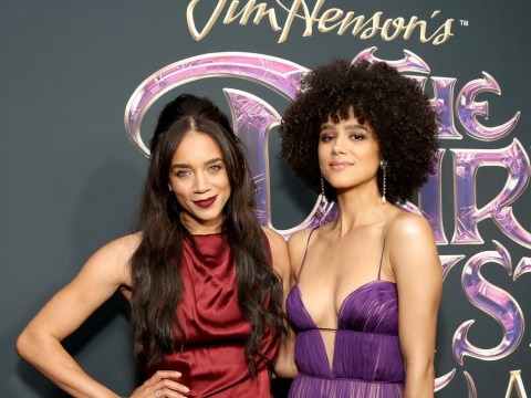 Game Of Thrones' Nathalie Emmanuel and Marvel star Hannah John-Kamen shine at Dark Crystal premiere