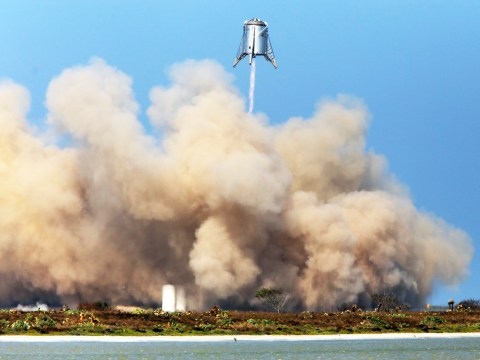 Elon Musk celebrates successful SpaceX Starhopper testflight – but his neighbours aren't happy