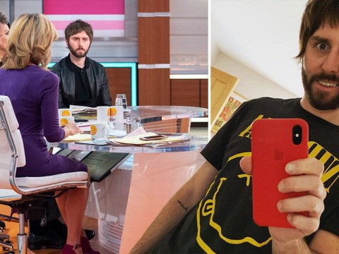 The Inbetweeners star James Buckley accuses This Morning of 'baiting' guests with mental health issues