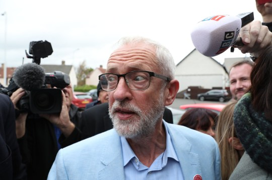 Labour leader Jeremy Corbyn during a visit to St Ninian's Chruch community centre in Dunfermline, on the first day of a three day tour of Scottish constituencies. PRESS ASSOCIATION Photo. Picture date: Thursday August 29, 2019. See PA story POLITICS Corbyn. Photo credit should read: Andrew Milligan/PA Wire