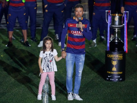 Luis Enrique's daughter, 9, dies after five-month cancer battle