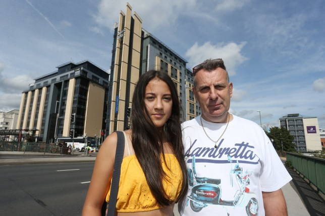 "A dad was outraged after his hotel room was 'stormed by police' when he checked in with his 13-year-old daughter. Jon Coupland, 58, checked into the Jury's Inn hotel in Station Street, Nottingham, with his daughter Jessica Coupland. Mr Coupland, who has had full custody of his daughter since she was three months old, was horrified when police knocked on his door and started questioning him on Wednesday night (August 28). He said he has been left ""disgusted"" by the actions of the hotel and the Nottinghamshire Police."