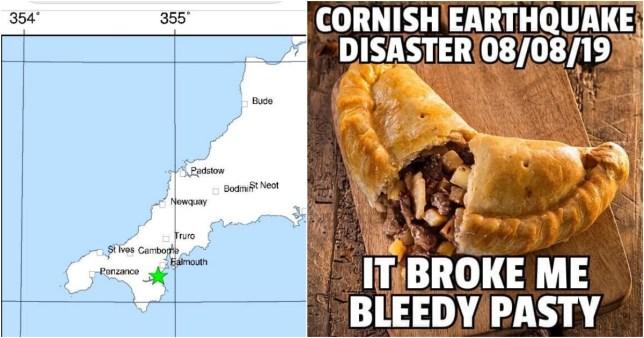 Cornwall earthquake strikes Helston and Falmouth leaving residents shook
