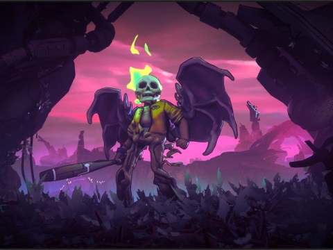 Double Fine's Rad preview and interview – 'I like things that are charming and disturbing at the same time'