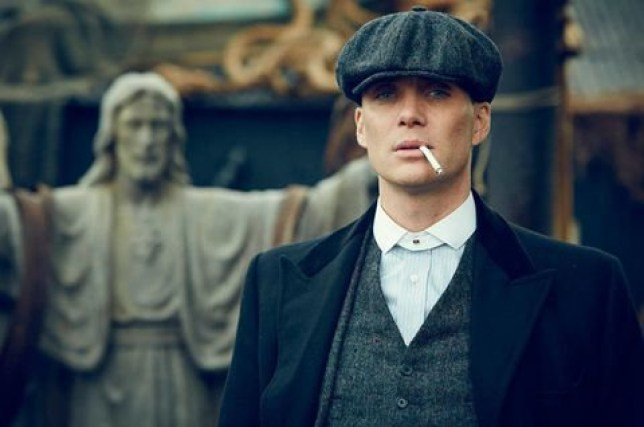 A Still of Cillian Murphy in Peaky Blinders season 5