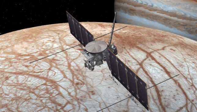 Nasa confirms mission to search for alien life on Jupiter's frozen moon Europa