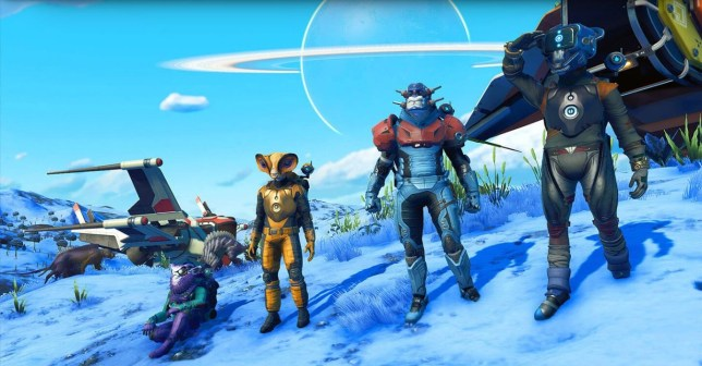 No Mans Sky Beyond (PS4) - the ever expanding space adventure