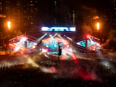 What does Lollapalooza get its name from?