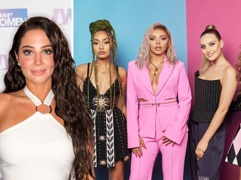 Tulisa has a secret group chat with Little Mix where they exchange drunken messages and we want in