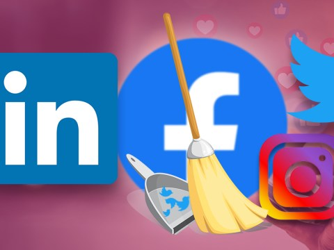 How to do a social media clean