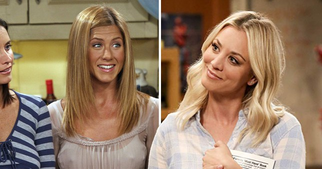 Kaley Cuoco really wanted Jennifer Aniston The Big Bang Theory cameo and just imagine