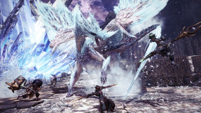 Monster Hunter: World Iceborne - Velkhana is not an easy mark