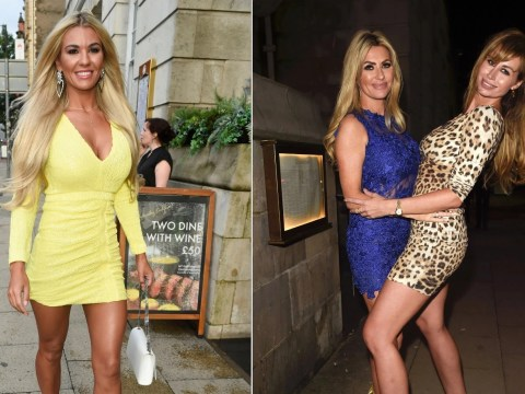 Christine McGuinness enjoys night out with pals after celebrating children's autism milestone