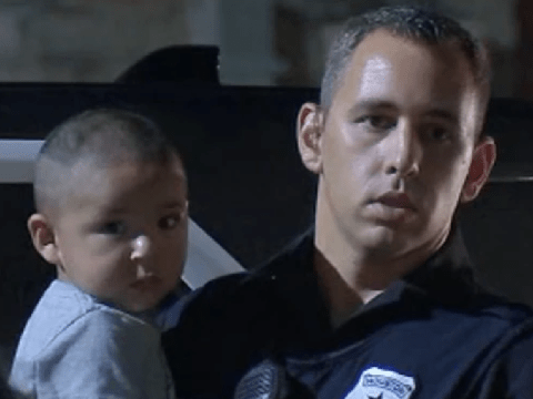 Toddler found wandering down deserted street at 4:30am asking for his mother