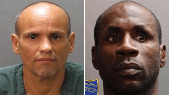 Mugshots of David Oseas Ramirez, left, and Paul Dixon, right