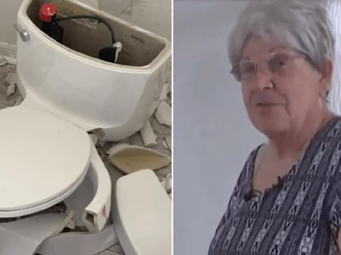 Bolt of lightning ignited fart gases in woman's septic tank and made her toilet explode