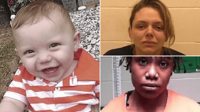 Pictures of Levi Cole Ellerbe, his mother Hanna Nicole Barker, and her girlfriend Felicia Marie-Nicole Smith