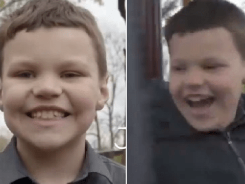 Boy, 8, in foster care is desperate to be adopted so he can have 'a mommy, daddy and a million puppies'
