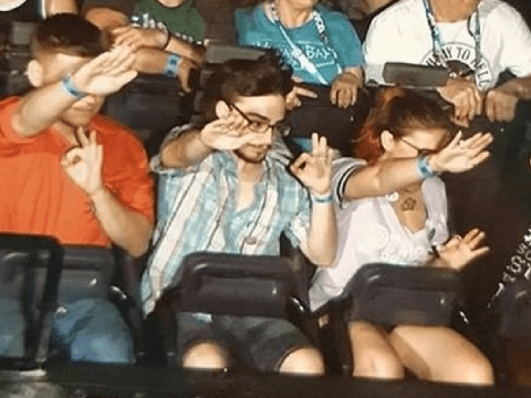 Universal Orlando bans racists who gave Nazi salute for on-ride photo