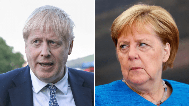 Boris Johnson heads to Germany to meet chancellor Angela Merkel over Brexit