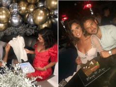 Ryan Thomas and Lucy Mecklenburgh expecting first child together