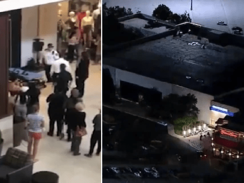 Girl, 2, died at mall 'after aunt let her climb store display which fell on top of her'