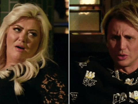 Gemma Collins dislodges bodysuit wedged 'up her crack' in middle of crowded restaurant