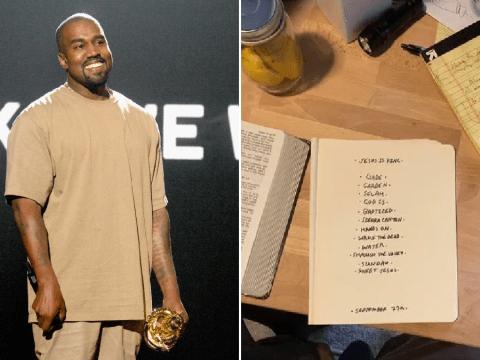 Did Kim Kardashian just announce Kanye West's next album?