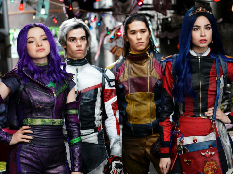 Descendants 3 review: The final chapter of the fantasy tale sees enemies become allies to seal the fate of the Villain Kids
