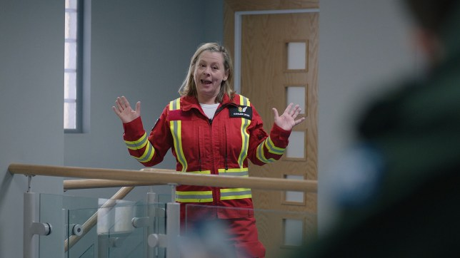Dixie is back in Casualty